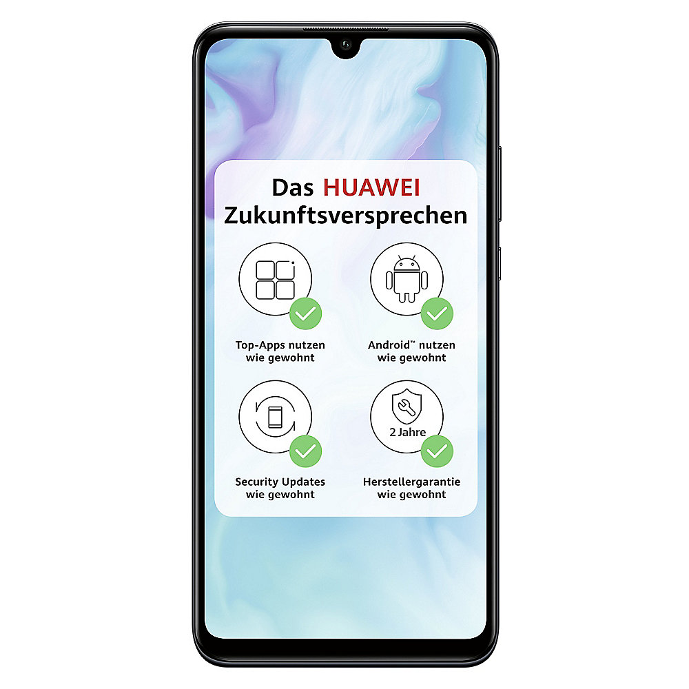 HUAWEI P30 lite black Dual-SIM Android 9.0 48 MP KI Triple-Kamera