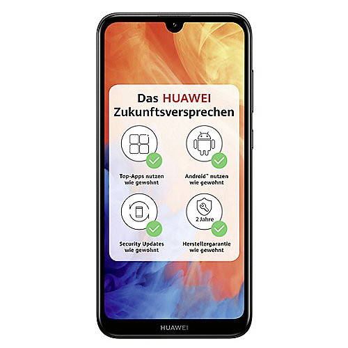 HUAWEI Y7 2019 Dual-SIM midnight black Android 8.0 Smartphone