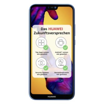 HUAWEI P20 lite Dual SIM blue Android 8.0 Smartphone auf Rechnung bestellen