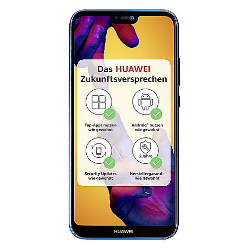 HUAWEI P20 lite Dual-SIM blue Android 8.0 Smartphone