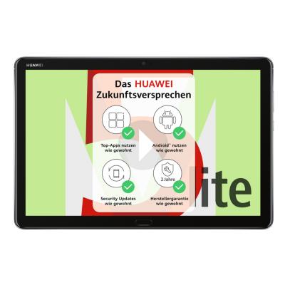 HUAWEI MediaPad M5 Lite 10 Tablet WiFi 32 GB grey auf Rechnung bestellen