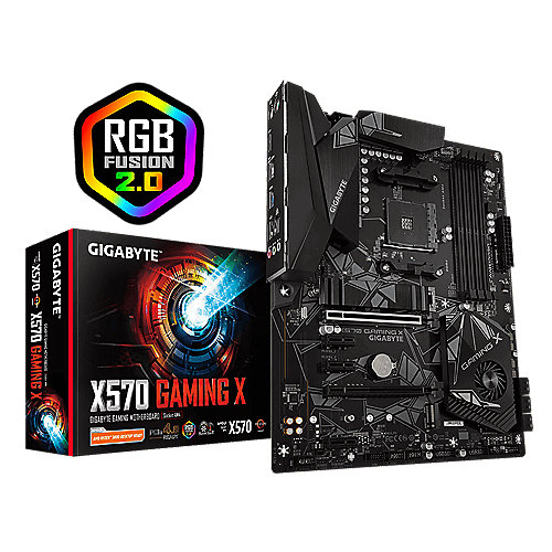Gigabyte X570 GAMING X ATX Mainboard Sockel AM4 USB3.0/2xM.2/HDMI