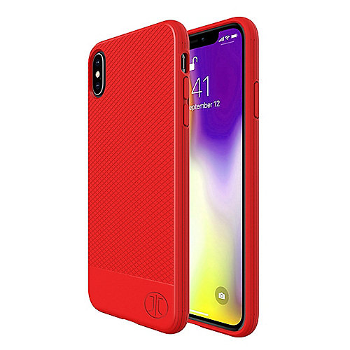 JT Berlin BackCase Pankow Soft Apple iPhone Xs/X rot