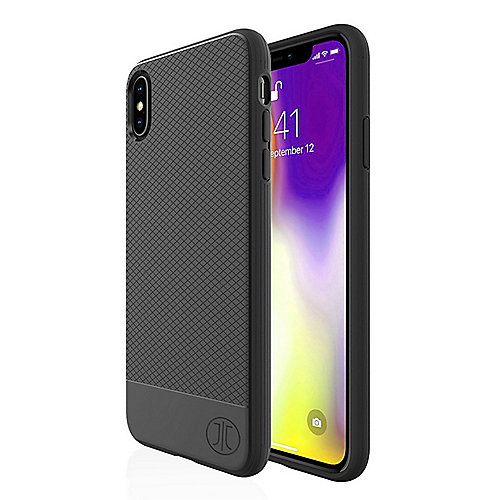 JT Berlin BackCase Pankow Soft Apple iPhone Xs/X schwarz
