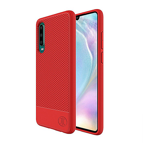 JT Berlin BackCase Pankow Soft Huawei P30 rot
