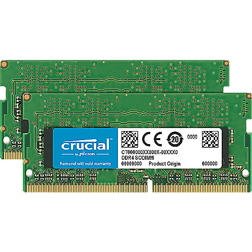 8GB (2x4GB) Crucial DDR4-3200 CL22 SO-DIMM RAM Notebook Speicher Kit