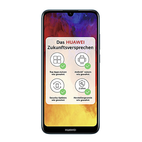 HUAWEI Y6 2019 Dual-SIM sapphire blue Android 9.0 Smartphone