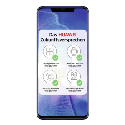 HUAWEI Mate20 Pro Dual SIM blue Android 9.0 Smartphone mit Leica Triple Kamera