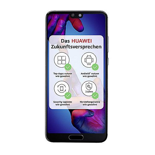 Nano Sim Karte Bilder.Huawei P20 Dual Sim Black Android 8 0 Smartphone Mit Leica Dual