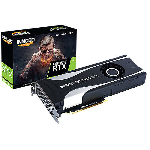 INNO3D GeForce RTX 2070 SUPER JET X1 8GB GDDR6 Grafikkarte 3xDP/HDMI