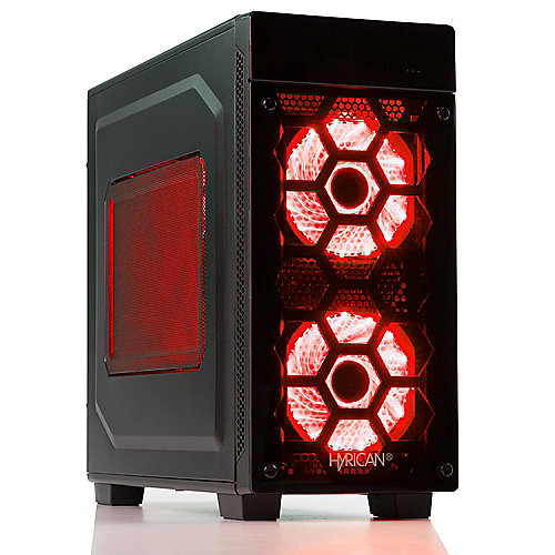 Hyrican Striker 6136 red i9-9900K 16GB 500GB 2TB RTX 2080 Ti
