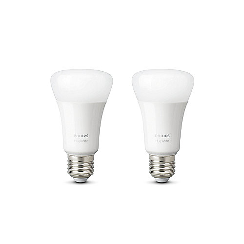Philips Hue White E27 LED Lampe Doppelpack 2x 9,5 W Bluetooth