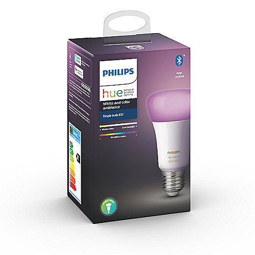 Philips Hue White and Color Ambiance E27 LED Lampe 9,5 W Bluetooth