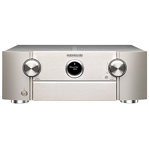 Marantz SR6014 9.2 AV Receiver 4K HEOS/WiFi/Bluetooth/AirPlay2/IMAX - silber