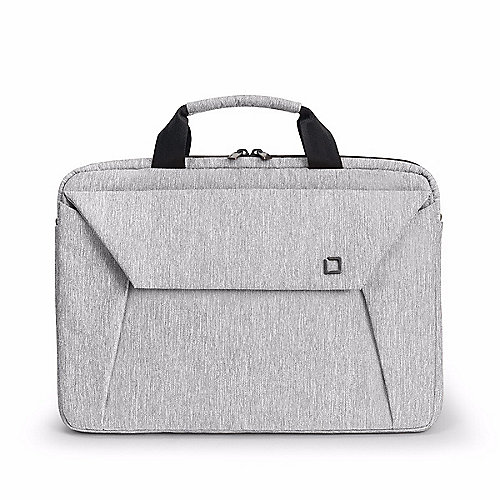 Dicota Slim Case EDGE 14-15.6 light grey Notebooktasche