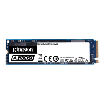 Kingston A2000 1 TB NVMe PCIe SSD M.2 - 80mm