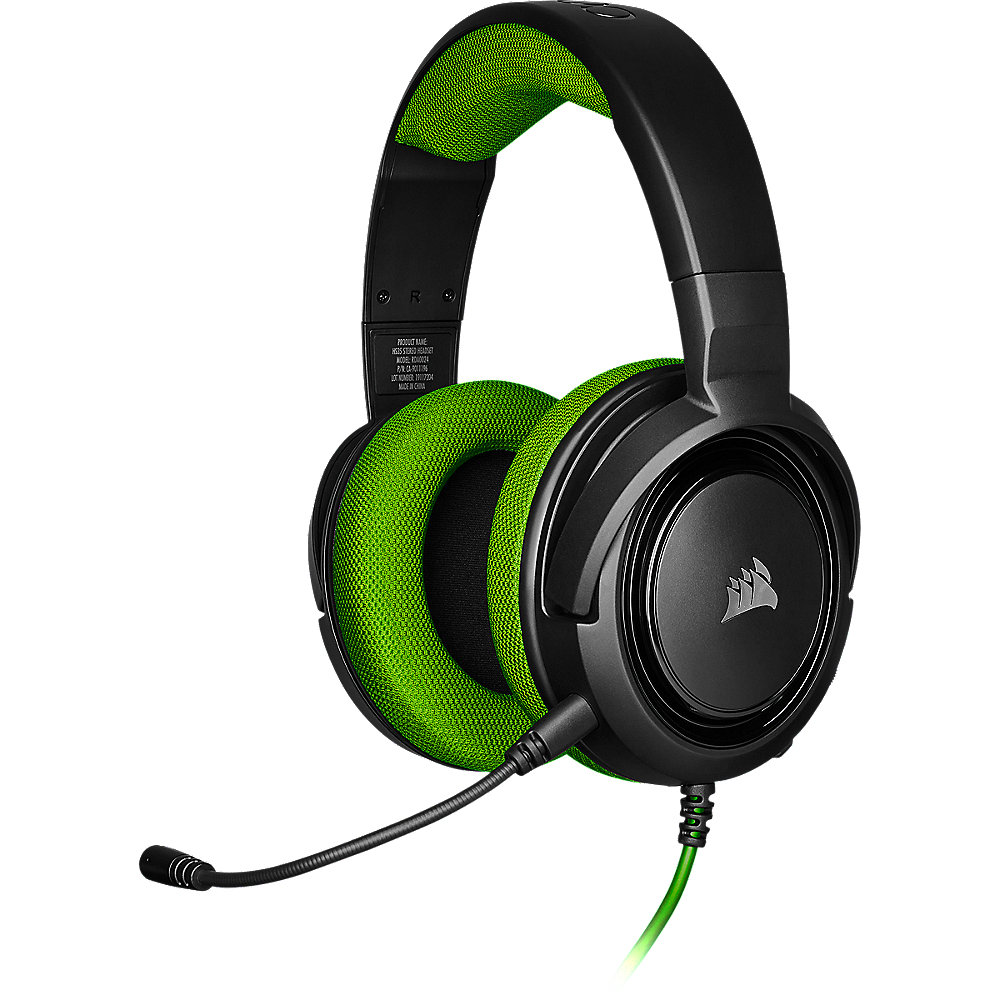 Corsair HS35 Stereo Gaming Headset grün/schwarz