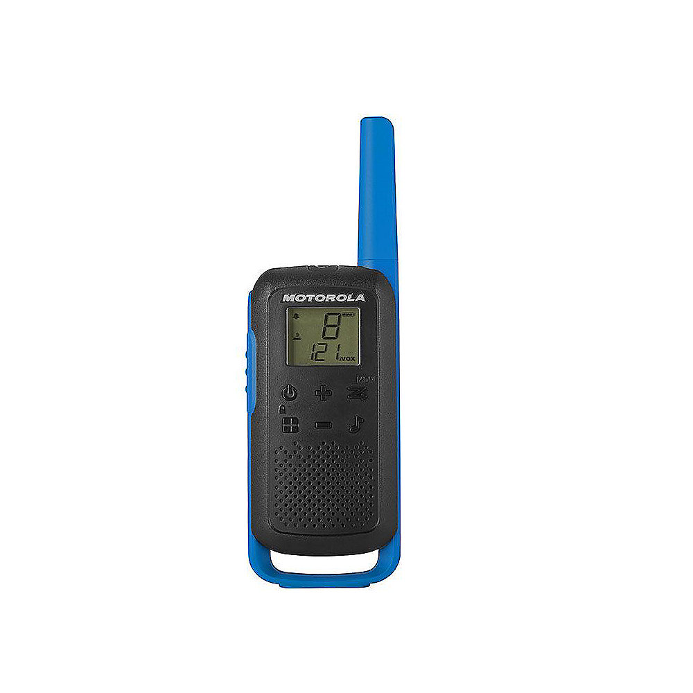 Motorola Solutions TALKABOUT T62 Blue Twin Pack & Chgr WE