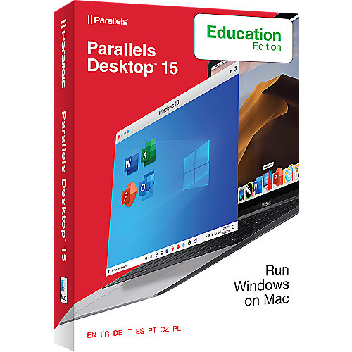 Parallels Desktop® 15 für Mac Academic Edition Box