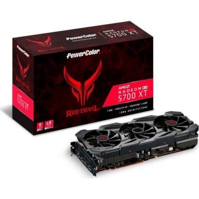 PowerColor AMD Radeon RX 5700 XT Red Devil 8GB GDDR6 HDMI 3xDP Grafikkarte