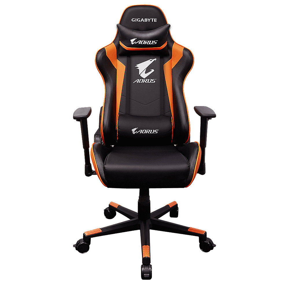 Gigabyte - AGC300 Gaming Chair - Schwarz/Orange