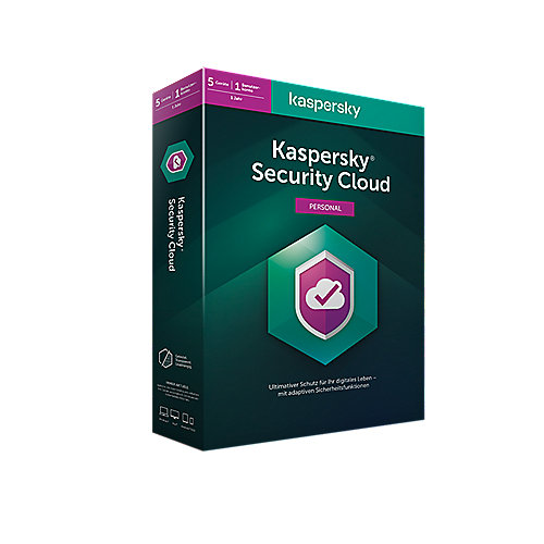 Kaspersky Security Cloud Personal Edition 5Geräte | 1Jahr | BOX