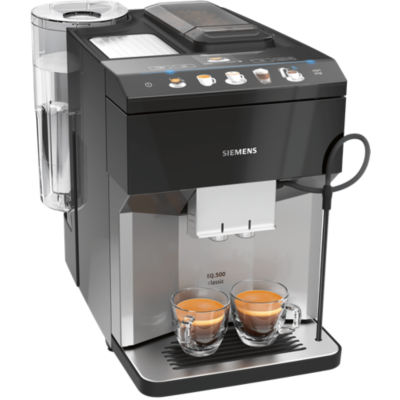 Siemens TP507DX4 EQ.500 classic HomeConnect, Kaffeevollautomat, Edelstahl