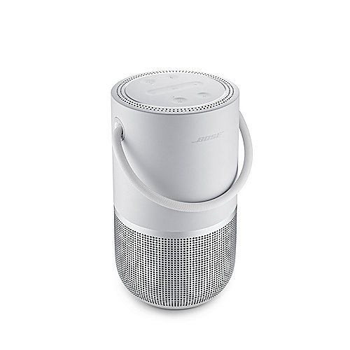 Bose Portable Home Speaker Smart-Speaker, Akku, WLAN, Bluetooth, silber