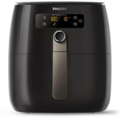 Philips HD9741/10 Avance Collection Airfryer Heißluft Fritteuse 0,8kg schwarz