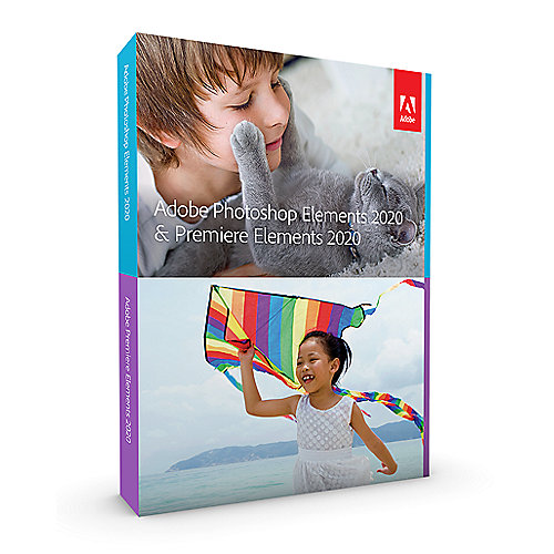 Adobe Photoshop & Premiere Elements 2020 Minibox GER, deutsch