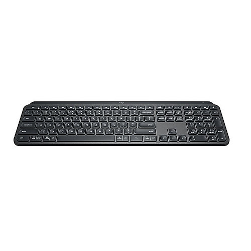 Logitech MX Keys Advanced Illuminated Kabellose Tastatur Graphite