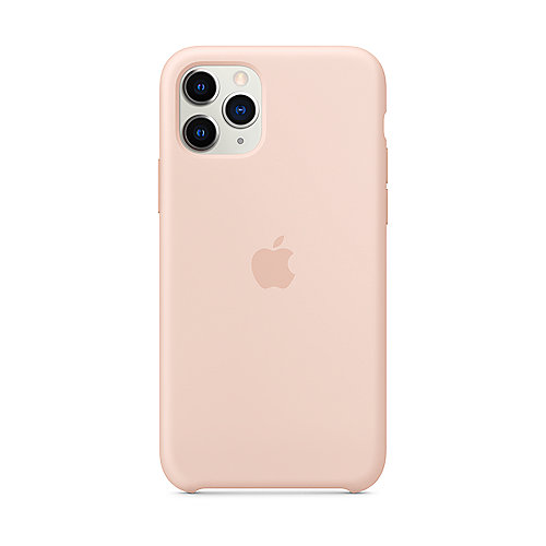 Apple Original iPhone 11 Pro Silikon Case-Sandrosa