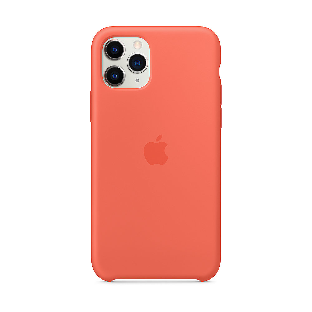 Apple Original iPhone 11 Pro Silikon Case-Clementine
