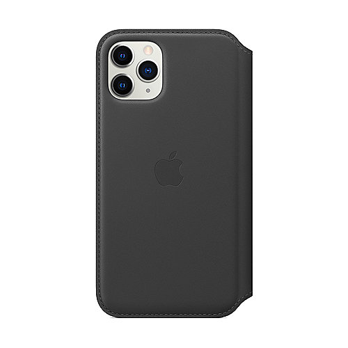 Apple Original iPhone 11 Pro Leder Folio Case-Schwarz