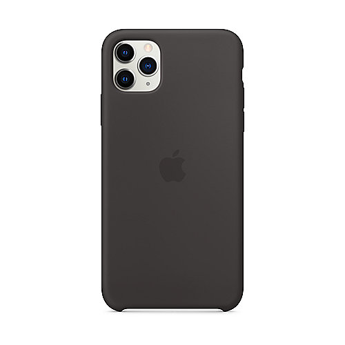 Apple Original iPhone 11 Pro Max Silikon Case-Schwarz