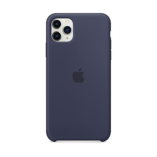 Apple Original iPhone 11 Pro Max Silikon Case-Mitternachtsblau