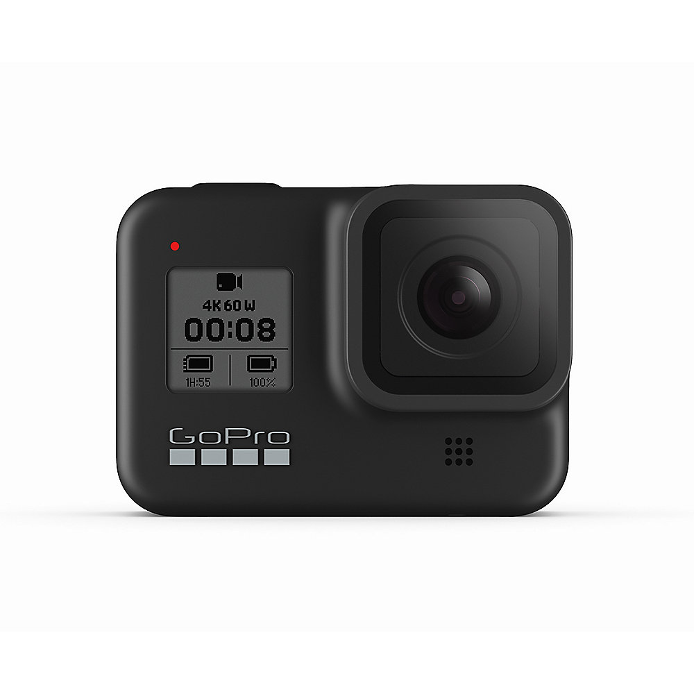 GoPro Hero 8 Black 4K60-Action Cam wasserdicht Sprachsteuerung Touchscreen