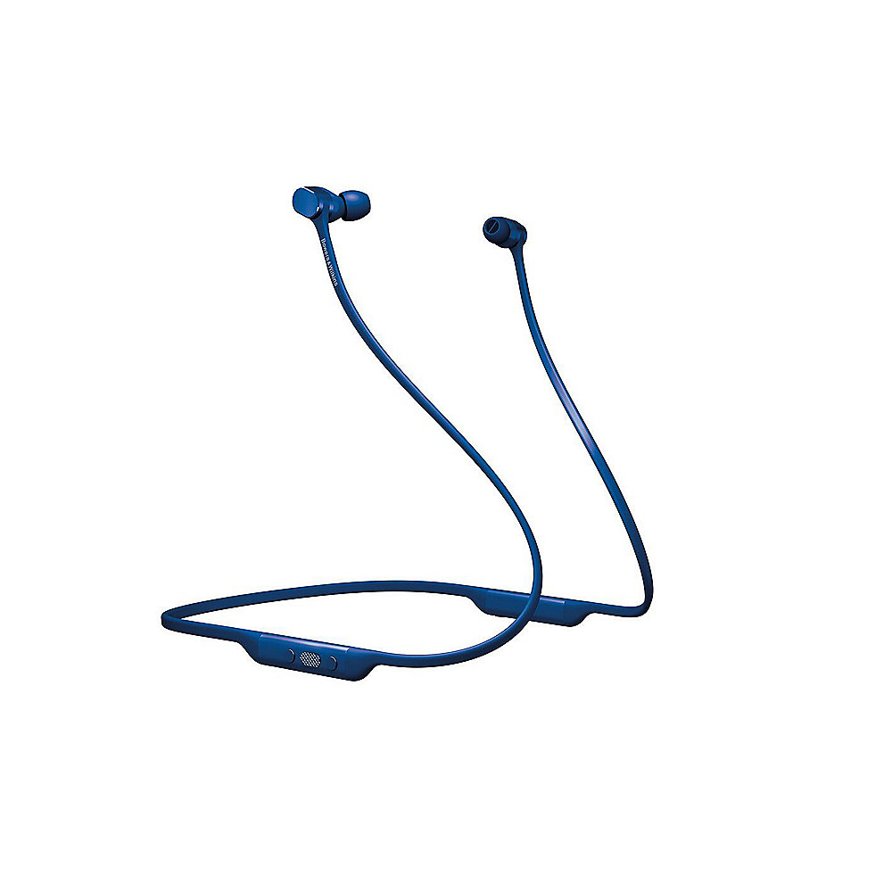 Bowers & Wilkins PI3 In Ear Bluetooth-Kopfhörer mit Neckband blau