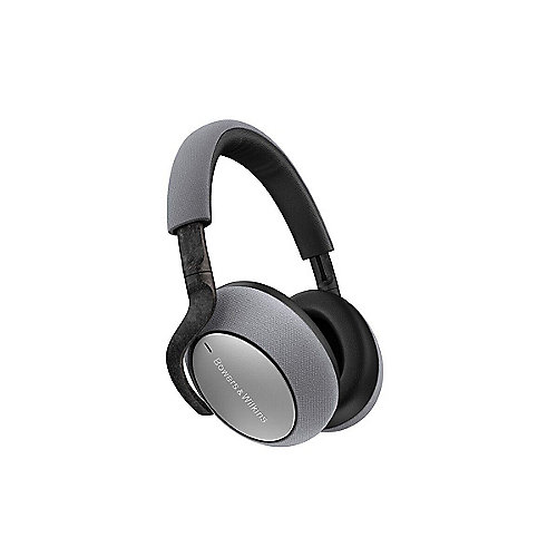 Bowers & Wilkins PX7 Over Ear Bluetooth-Kopfhörer mit Noise Cancelling silber