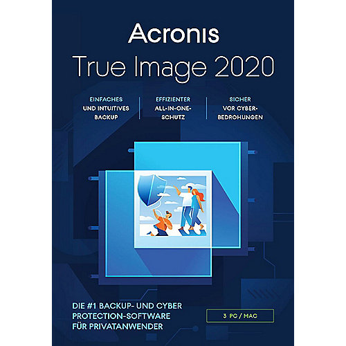 Acronis True Image 2020 3 PC BOX