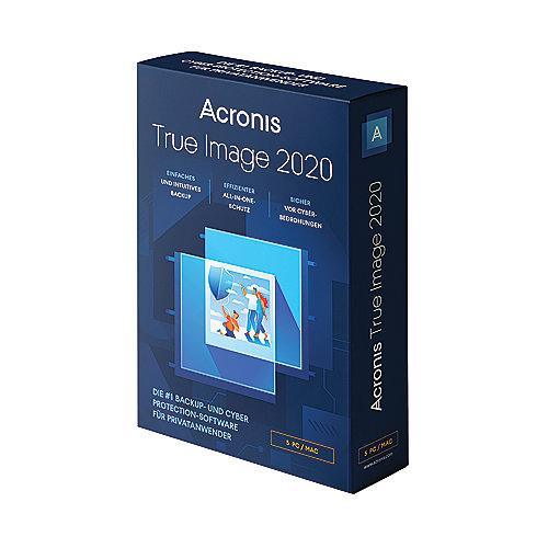 Acronis True Image 2020 5 PC BOX