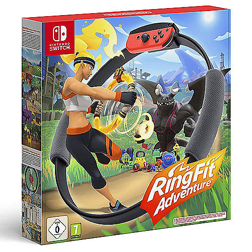 Ring Fit Adventure inkl. Ring-Con & Beingurt - Nintendo Switch