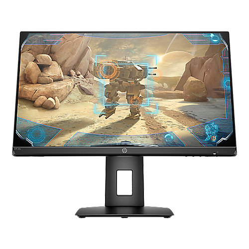 "HP 24x 60.45cm (23.8"") FHD Gaming Monitor LED FreeSync HDMI/DP 250cd/m²"