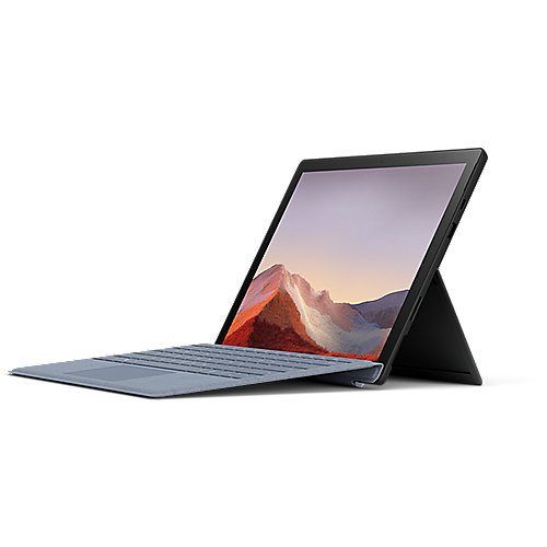 "Surface Pro 7 PUV-00018 Schwarz i5 8GB/256GB SSD 12"" 2in1 Win10 + TC Blau"