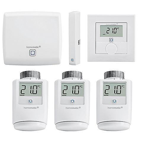 Homematic IP Starter Set Raumklima Smart Heizen