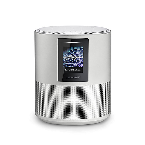Bose Home Speaker 500 Smart-Speaker mit WLAN, BT, AirPlay2, Alexa, sil.