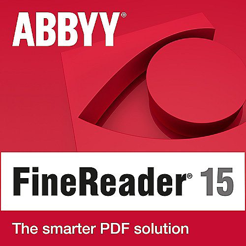 ABBYY FineReader 15 Standard Lizenz (1-4 User) Win ESD EDU