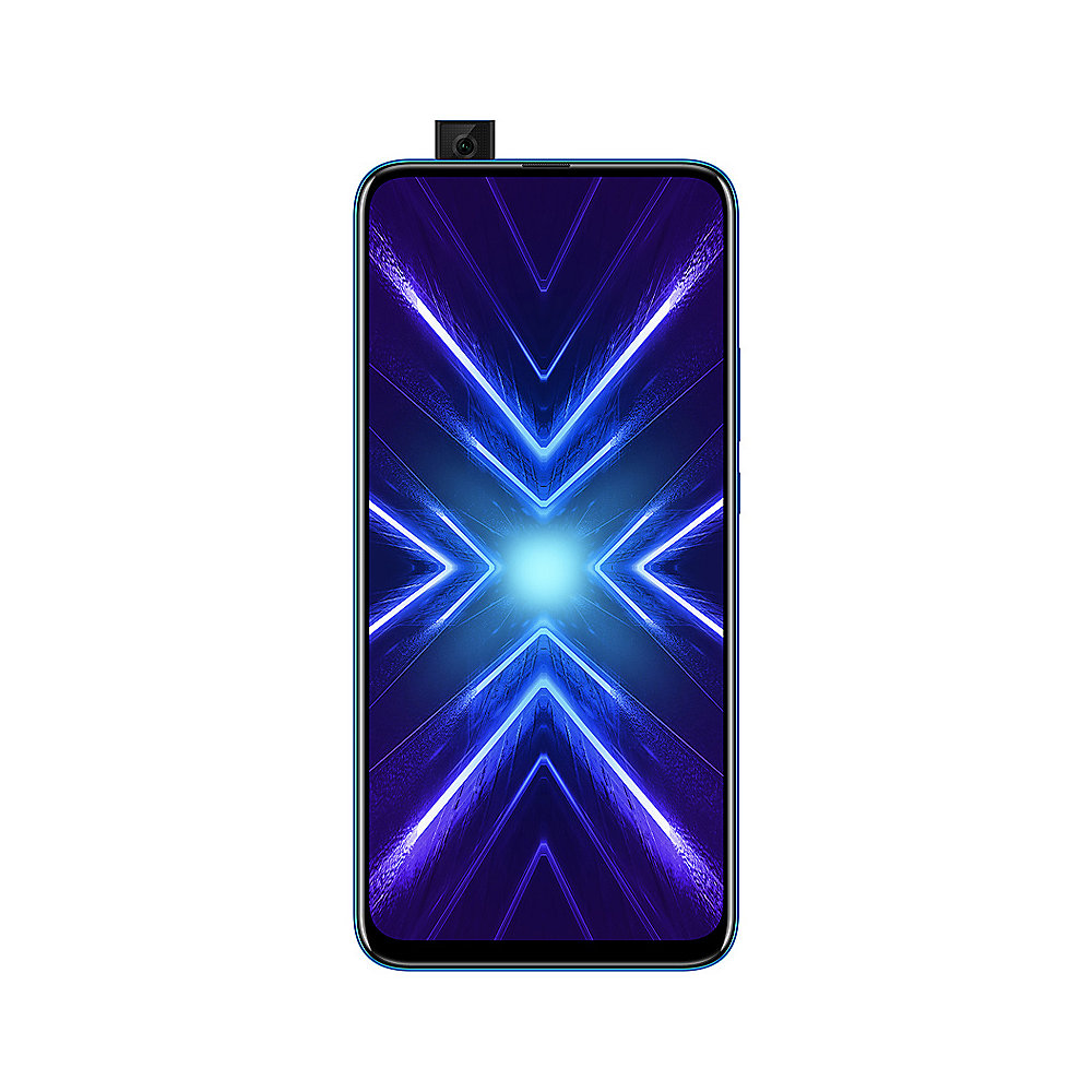 Honor 9X blue 4/128 GB Android 9.0 Smartphone mit Triple-Kamera
