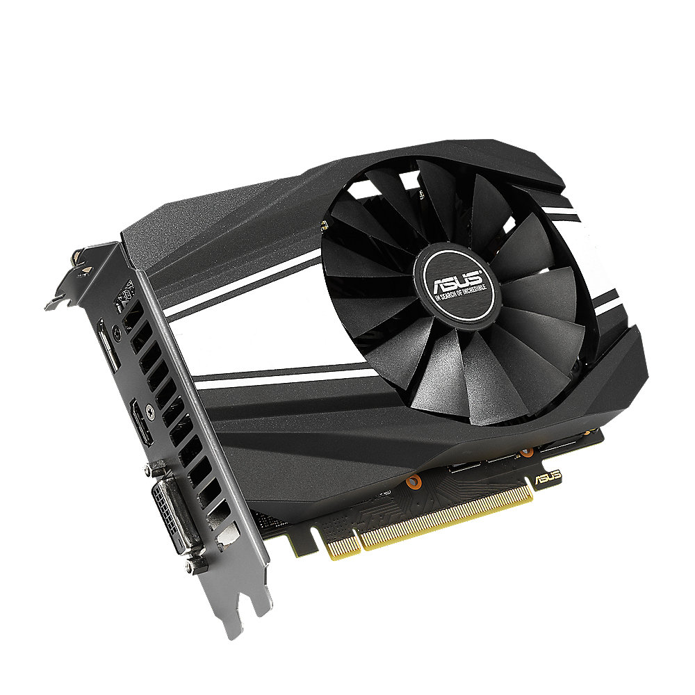 Asus GeForce GTX 1650 Super Phoenix OC 4GB GDDR6 Grafikkarte DP/HDMI/DVI