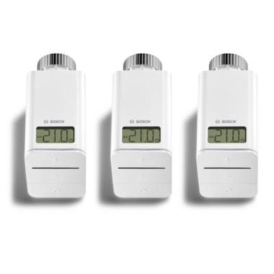 Bosch Smart Home smartes Heizkörper-Thermostat DE 3er-Pack